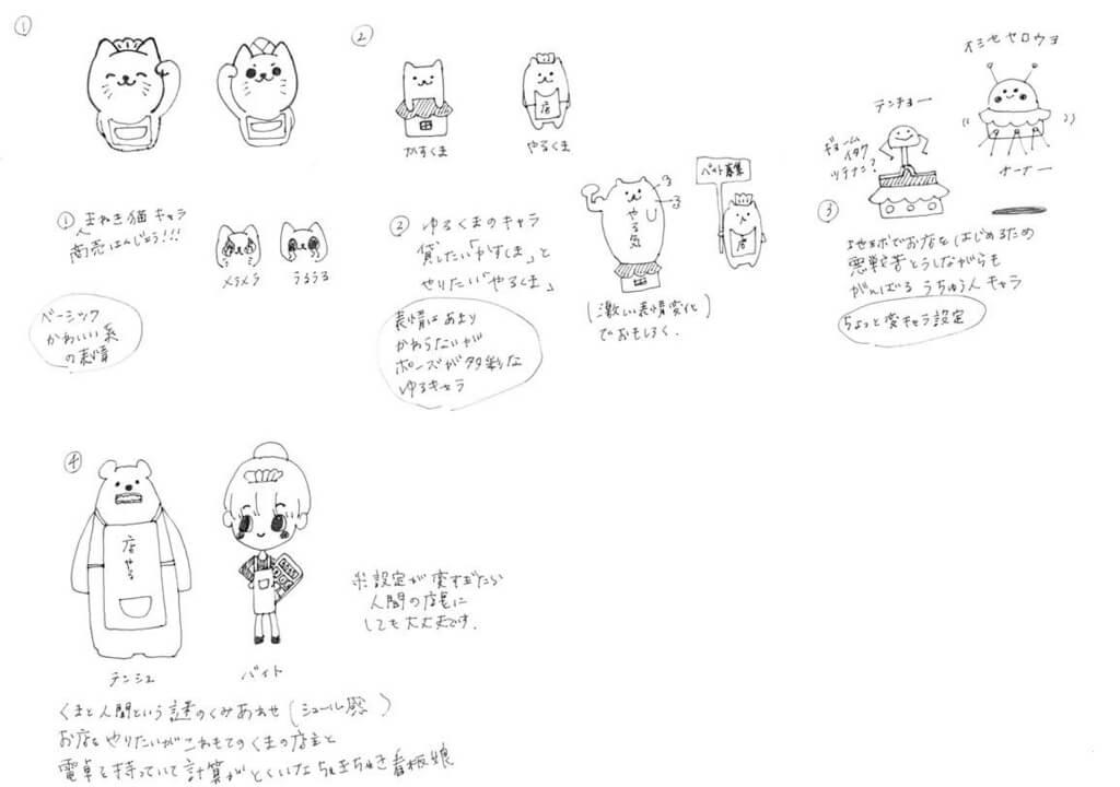 キャラクターデザイン3
