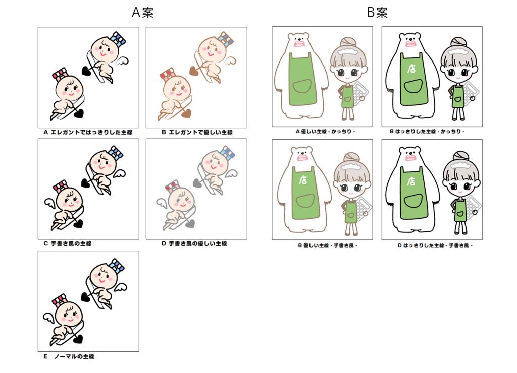キャラクターデザイン4